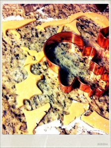 Lemon Honey Dough Cutout Scraps